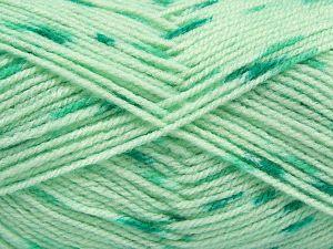 Fiber Content 100% Acrylic, Brand Ice Yarns, Green Shades, Yarn Thickness 2 Fine Sport, Baby, fnt2-66567
