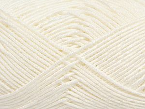 Fiber Content 50% Bamboo, 50% Acrylic, Optical White, Brand Ice Yarns, Yarn Thickness 2 Fine Sport, Baby, fnt2-66607