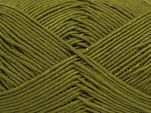 Fiber Content 50% Bamboo, 50% Acrylic, Jungle Green, Brand Ice Yarns, Yarn Thickness 2 Fine Sport, Baby, fnt2-66608