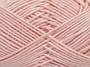 Fiber Content 50% Acrylic, 50% Bamboo, Light Pink, Brand Ice Yarns, Yarn Thickness 2 Fine Sport, Baby, fnt2-66610