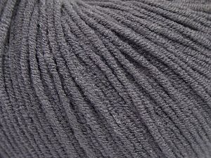 Modal is a type of yarn which is mixed with the silky type of fiber. It is derived from the beech trees. Fiber Content 55% Modal, 45% Acrylic, Brand Ice Yarns, Dark Grey, Yarn Thickness 3 Light DK, Light, Worsted, fnt2-66688