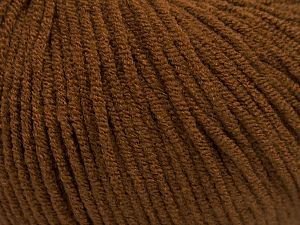 Modal is a type of yarn which is mixed with the silky type of fiber. It is derived from the beech trees. Fiber Content 55% Modal, 45% Acrylic, Brand Ice Yarns, Brown, Yarn Thickness 3 Light DK, Light, Worsted, fnt2-66690