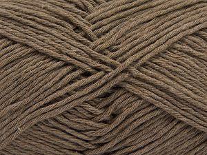 Fiber Content 100% Cotton, Brand Ice Yarns, Camel, Yarn Thickness 4 Medium Worsted, Afghan, Aran, fnt2-66810