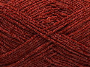 Fiber Content 100% Cotton, Brand Ice Yarns, Copper, Yarn Thickness 4 Medium Worsted, Afghan, Aran, fnt2-66812