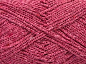 Fiber Content 100% Cotton, Brand Ice Yarns, Candy Pink, Yarn Thickness 4 Medium Worsted, Afghan, Aran, fnt2-66824
