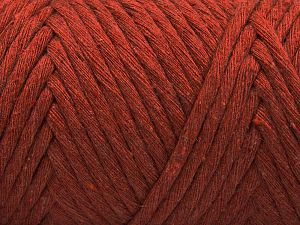 Fiber Content 100% Cotton, Brand Ice Yarns, Copper, Yarn Thickness 6 SuperBulky Bulky, Roving, fnt2-66832