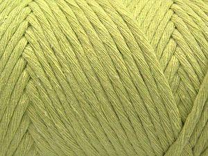 Fiber Content 100% Cotton, Light Green, Brand Ice Yarns, Yarn Thickness 6 SuperBulky Bulky, Roving, fnt2-66833