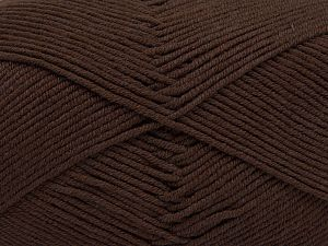 Fiber Content 50% Acrylic, 50% Cotton, Rose Brown, Brand Ice Yarns, Yarn Thickness 2 Fine Sport, Baby, fnt2-66892