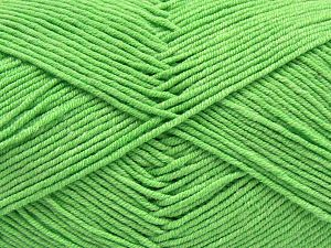 Fiber Content 50% Cotton, 50% Acrylic, Light Green, Brand Ice Yarns, Yarn Thickness 2 Fine Sport, Baby, fnt2-66897
