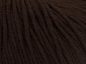 Fiber Content 50% Cotton, 50% Acrylic, Brand Ice Yarns, Brown, Yarn Thickness 3 Light DK, Light, Worsted, fnt2-66901