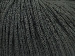 Fiber Content 50% Cotton, 50% Acrylic, Brand Ice Yarns, Grey, Yarn Thickness 3 Light DK, Light, Worsted, fnt2-66902