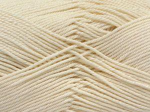 Fiber Content 100% Mercerised Giza Cotton, Brand Ice Yarns, Ecru, Yarn Thickness 2 Fine Sport, Baby, fnt2-66916