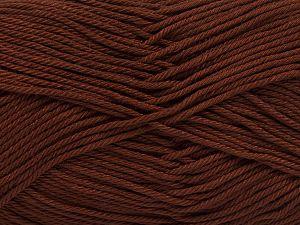 Fiber Content 100% Mercerised Giza Cotton, Brand Ice Yarns, Brown, Yarn Thickness 2 Fine Sport, Baby, fnt2-66918