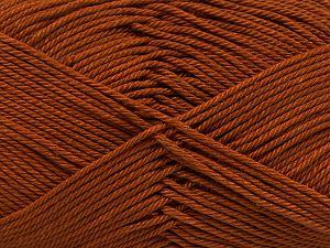 Fiber Content 100% Mercerised Giza Cotton, Brand Ice Yarns, Caramel, Yarn Thickness 2 Fine Sport, Baby, fnt2-66919