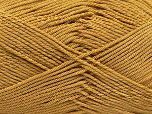 Fiber Content 100% Mercerised Giza Cotton, Brand Ice Yarns, Gold, Yarn Thickness 2 Fine Sport, Baby, fnt2-66920