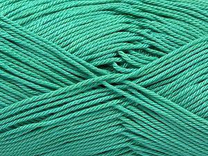 Fiber Content 100% Mercerised Giza Cotton, Light Green, Brand Ice Yarns, Yarn Thickness 2 Fine Sport, Baby, fnt2-66930