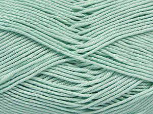 Fiber Content 100% Mercerised Giza Cotton, Water Green, Brand Ice Yarns, Yarn Thickness 2 Fine Sport, Baby, fnt2-66931