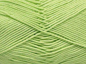 Fiber Content 100% Mercerised Giza Cotton, Light Green, Brand Ice Yarns, Yarn Thickness 2 Fine Sport, Baby, fnt2-66932