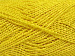 Fiber Content 100% Mercerised Giza Cotton, Yellow, Brand Ice Yarns, Yarn Thickness 2 Fine Sport, Baby, fnt2-66934