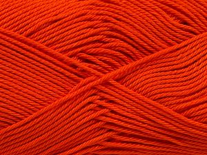 Fiber Content 100% Mercerised Giza Cotton, Orange, Brand Ice Yarns, Yarn Thickness 2 Fine Sport, Baby, fnt2-66937