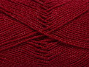 Fiber Content 100% Mercerised Giza Cotton, Brand Ice Yarns, Dark Fuchsia, Yarn Thickness 2 Fine Sport, Baby, fnt2-66939