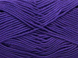 Fiber Content 100% Mercerised Giza Cotton, Lavender, Brand Ice Yarns, Yarn Thickness 2 Fine Sport, Baby, fnt2-66943