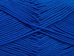 Fiber Content 100% Mercerised Giza Cotton, Brand Ice Yarns, Blue, Yarn Thickness 2 Fine Sport, Baby, fnt2-66950