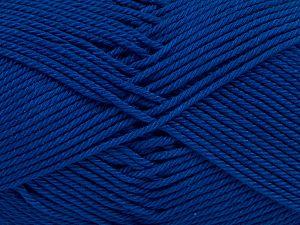 Fiber Content 100% Mercerised Giza Cotton, Royal Blue, Brand Ice Yarns, Yarn Thickness 2 Fine Sport, Baby, fnt2-66951