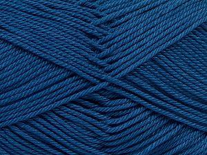 Fiber Content 100% Mercerised Giza Cotton, Jeans Blue, Brand Ice Yarns, Yarn Thickness 2 Fine Sport, Baby, fnt2-66952
