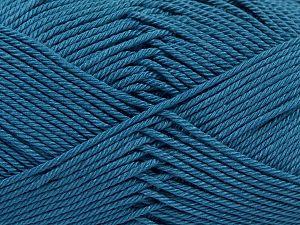 Fiber Content 100% Mercerised Giza Cotton, Indigo Blue, Brand Ice Yarns, Yarn Thickness 2 Fine Sport, Baby, fnt2-66953