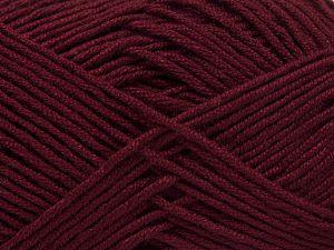 Fiber Content 50% Acrylic, 50% Bamboo, Brand Ice Yarns, Burgundy, Yarn Thickness 2 Fine Sport, Baby, fnt2-66984