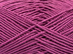 Fiber Content 50% Acrylic, 50% Bamboo, Orchid, Brand Ice Yarns, Yarn Thickness 2 Fine Sport, Baby, fnt2-66986