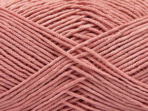 Fiber Content 50% Bamboo, 50% Acrylic, Rose Pink, Brand Ice Yarns, Yarn Thickness 2 Fine Sport, Baby, fnt2-66987