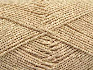 Fiber Content 50% Acrylic, 50% Cotton, Brand Ice Yarns, Dark Cream, Yarn Thickness 2 Fine Sport, Baby, fnt2-67016
