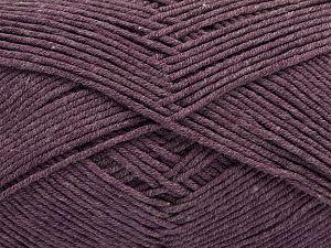 Fiber Content 50% Cotton, 50% Acrylic, Light Lavender, Brand Ice Yarns, Yarn Thickness 2 Fine Sport, Baby, fnt2-67018