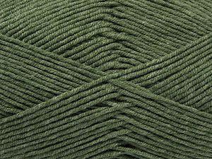 Fiber Content 50% Acrylic, 50% Cotton, Light Hunter Green, Brand Ice Yarns, Yarn Thickness 2 Fine Sport, Baby, fnt2-67019