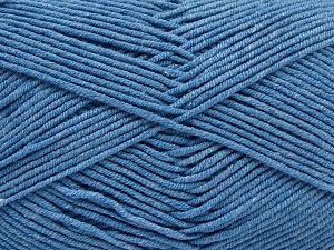 Fiber Content 50% Cotton, 50% Acrylic, Light Jeans Blue, Brand Ice Yarns, Yarn Thickness 2 Fine Sport, Baby, fnt2-67021