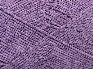 Fiber Content 100% Cotton, Lavender, Brand Ice Yarns, Yarn Thickness 2 Fine Sport, Baby, fnt2-67027