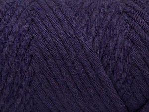 Fiber Content 100% Cotton, Purple, Brand Ice Yarns, Yarn Thickness 6 SuperBulky Bulky, Roving, fnt2-67035