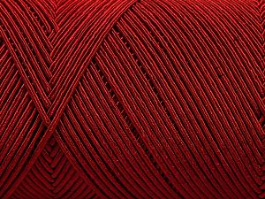 Fiber Content 70% Polyester, 30% Cotton, Red, Brand Ice Yarns, Yarn Thickness 3 Light DK, Light, Worsted, fnt2-67072