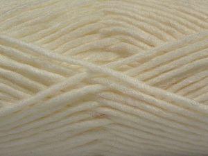 Contenido de fibra 85% Acrílico, 5% Mohair, 10% Lana, White, Brand Ice Yarns, Yarn Thickness 5 Bulky Chunky, Craft, Rug, fnt2-67095
