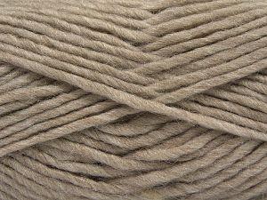 Contenido de fibra 85% Acrílico, 5% Mohair, 10% Lana, Light Camel, Brand Ice Yarns, Yarn Thickness 5 Bulky Chunky, Craft, Rug, fnt2-67100