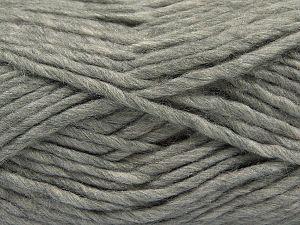 Contenido de fibra 85% Acrílico, 5% Mohair, 10% Lana, Light Grey, Brand Ice Yarns, Yarn Thickness 5 Bulky Chunky, Craft, Rug, fnt2-67102