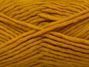 Contenido de fibra 85% Acrílico, 5% Mohair, 10% Lana, Brand Ice Yarns, Gold, Yarn Thickness 5 Bulky Chunky, Craft, Rug, fnt2-67108