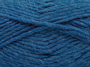 Contenido de fibra 85% Acrílico, 5% Mohair, 10% Lana, Jeans Blue, Brand Ice Yarns, Yarn Thickness 5 Bulky Chunky, Craft, Rug, fnt2-67110