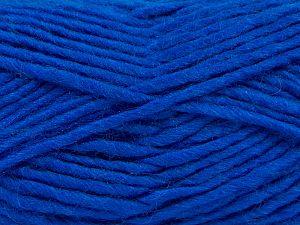 Contenido de fibra 85% Acrílico, 5% Mohair, 10% Lana, Brand Ice Yarns, Dark Blue, Yarn Thickness 5 Bulky Chunky, Craft, Rug, fnt2-67112