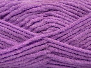 Contenido de fibra 85% Acrílico, 5% Mohair, 10% Lana, Lilac, Brand Ice Yarns, Yarn Thickness 5 Bulky Chunky, Craft, Rug, fnt2-67115