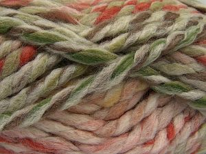 Contenido de fibra 75% Acrílico, 25% Lana, Pink Shades, Brand Ice Yarns, Cream, Brown Shades, Yarn Thickness 6 SuperBulky Bulky, Roving, fnt2-67148