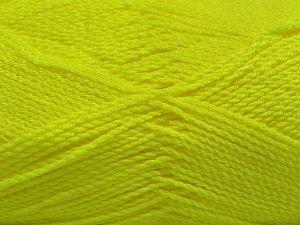 Fiber Content 100% Premium Acrylic, Neon Green, Brand Ice Yarns, Yarn Thickness 2 Fine Sport, Baby, fnt2-67209