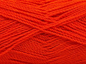 Fiber Content 100% Premium Acrylic, Orange, Brand Ice Yarns, Yarn Thickness 2 Fine Sport, Baby, fnt2-67211